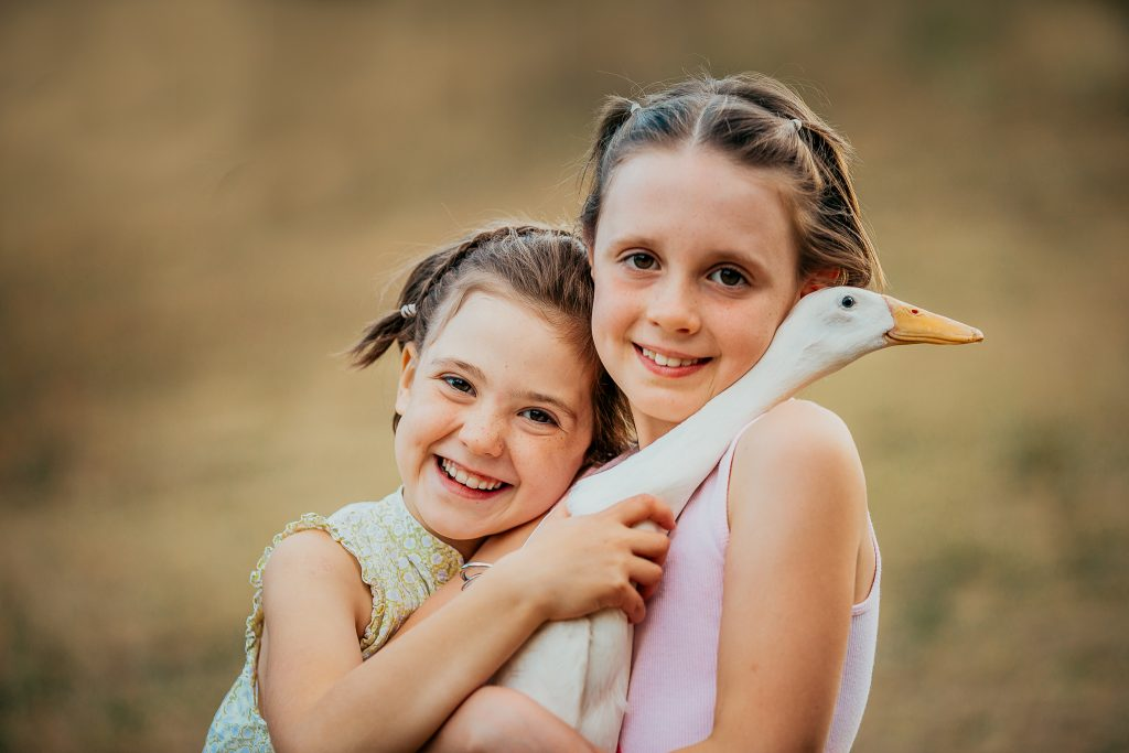 Family session with ducks!
